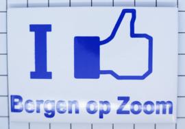 10 stuks koelkastmagneet I like Bergen op Zoom  N_NB6.005