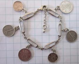 ARM 504 armband schakel munten