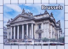 koelkastmagneet Brussels N_BX034