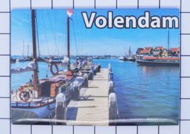 10 stuks koelkastmagneet  Volendam N_NH4.022