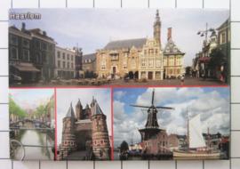 10 stuks koelkastmagneet  Haarlem N_NH5.003