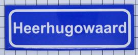 10 stuks koelkastmagneet  plaatsnaambord Heerhugowaard  P_NH20.5001