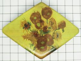 Haarspeld ruit Vincent van Gogh HAD 005