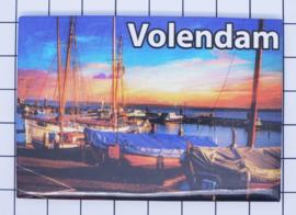 10 stuks koelkastmagneet  Volendam N_NH4.023