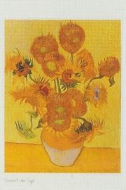 pak 50 stuks Kwaliteitsposters 35 x 45 cm Zonnebloemen - Vincent van Gogh