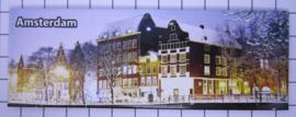10 stuks koelkastmagneet Amsterdam  sneeuw  22.023