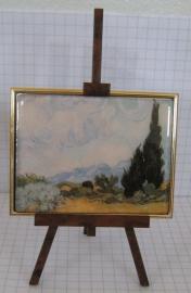 SCH 204 Schildersezeltje cypres, Vincent van Gogh