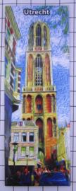 10 stuks koelkastmagneet  Utrecht  P_UT1.0013