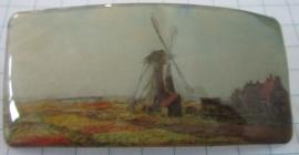 Haarspeld rechthoek molen licht Claude Monet HAR 007