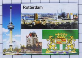 10 stuks koelkastmagneet Rotterdam N_ZH1.031