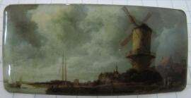 Haarspeld rechthoek molen van Jacob Ruisdael HAR 008