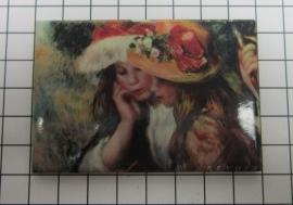 10 stuks koelkastmagneet Auguste Renoir MAC:20.353