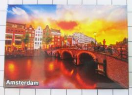10 stuks koelkastmagneet Amsterdam  MAC:19.014