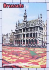 koelkastmagneet Brussels N_BX019