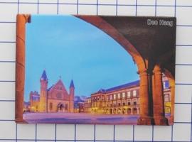 N_ZH3.001 koelkastmagneet Den Haag , pakje 10 stuks