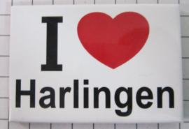 10 stuks koelkastmagneet I Love Harlingen  N_FR7.001