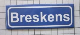 10 stuks koelkastmagneet  plaatsnaambord Breskens  P_ZE7.7001