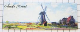 10 stuks koelkastmagneet Holland MAC:21.220 Claude Monet