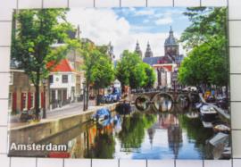 10 stuks koelkastmagneet Amsterdam  MAC:19.015