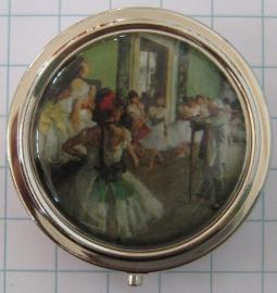 PIL 126 pillendoosje dansschool Degas