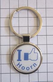 SLE_NH5.502 Sleutelhanger I like Hoorn