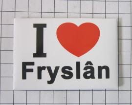 10 stuks koelkastmagneet I love Fryslân N_FR1.002