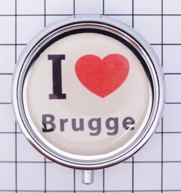 Pil_BB101 Pillendoosjes I Love Brugge