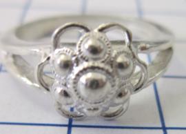 ZKR011-Z Zeeuwse Knop echt Zilver