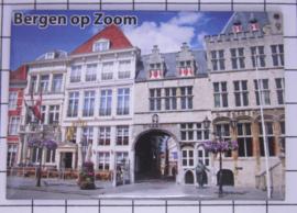 10 stuks koelkastmagneet Bergen op Zoom  N_NB6.002