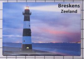 10 stuks koelkastmagneet Zeeland  Breskens N_ZE7.702