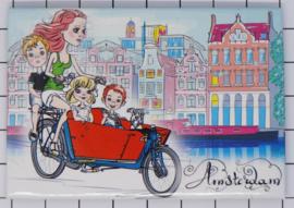 10 stuks koelkastmagneet Amsterdam 18.956