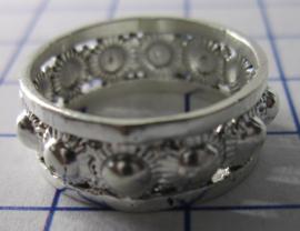 ZKR004-Z Zeeuwse Knop echt Zilver