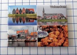 10 stuks koelkastmagneet  Volendam N_NH4.016