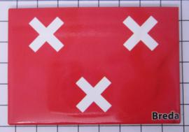 10 stuks koelkastmagneet Breda  N_NB4.005