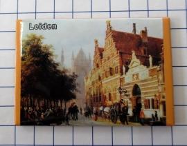 10 stuks koelkastmagneet  Leiden N_ZH6.005