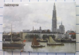 koelkastmagneten Antwerpen N_BA013