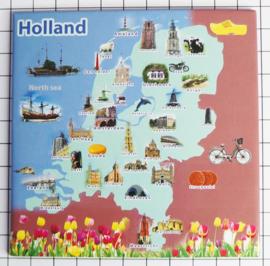 10 stuks Mega koelkastmagneet Holland MEGA_V_20.501