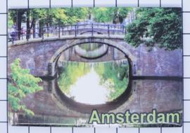 10 stuks koelkastmagneet  doorkijk bruggen Amsterdam  18.972