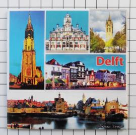 10 stuks koelkastmagneet Delft MEGA_V_ZH5.001
