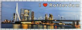 10 stuks Mega koelkastmagneet Rotterdam MEGA_P_ZH1.0002