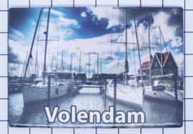 10 stuks koelkastmagneet  Volendam N_NH4.026