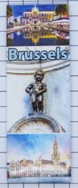 koelkastmagneet Brussels P_BX0014