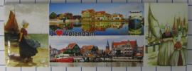 10 stuks koelkastmagneet  Volendam  P_NH4.0010