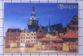 10 stuks koelkastmagneet Nijmegen  N_GE1.020