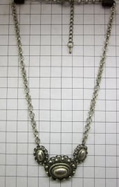 collier zeeuwse ovale knoppen ZKC711