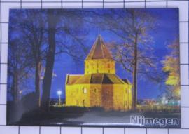 10 stuks koelkastmagneet Nijmegen  N_GE1.018