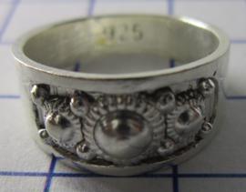 ZKR008-Z Zeeuwse Knop echt Zilver