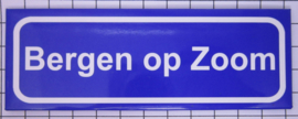 10 stuks koelkastmagneet Bergen op Zoom  P_NB6.0001