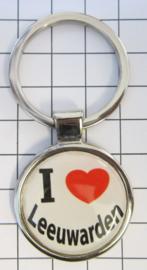 SLE_FR2.001 Sleutelhanger I love Leeuwarden