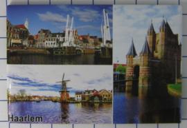 10 stuks koelkastmagneet  Haarlem N_NH5.005